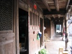 Windows on a Chinese house, Dongshan