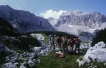 in the Durmitor mountains in Bosnia